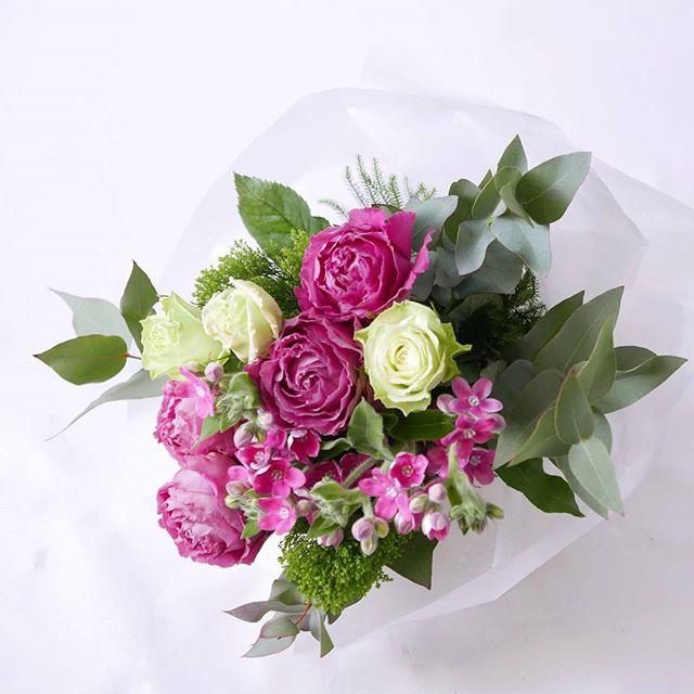ピンクはバラ…のように美しいトルコキキョウ美人さん。#蔵前#こめて#カチクラ#花のある暮らし#植物と暮らす